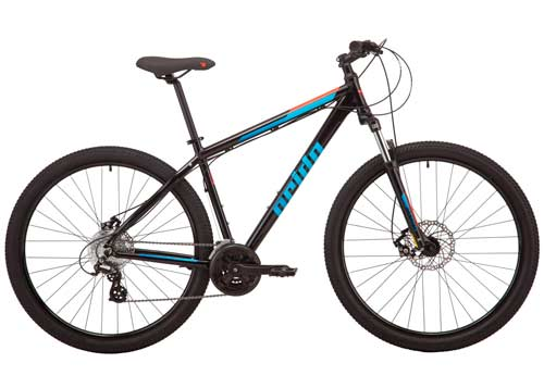 Велосипед 29 Pride MARVEL 9.2 рама - X черный 2019
