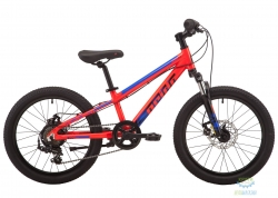 Велосипед 20 Pride Rowdy 2.2 красный 2019