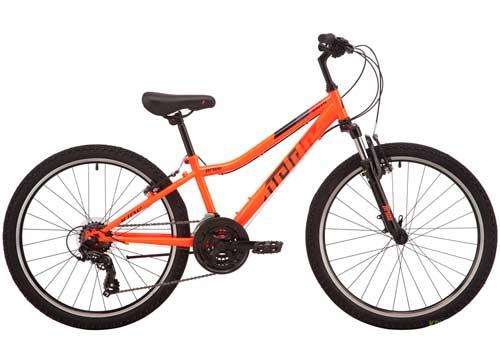 Велосипед 24 Pride BRAVE 4.2 оранжевый 2019