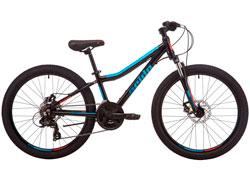 Велосипед 24 Pride MARVEL 4.2 черный 2019
