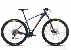 Велосипед Orbea ALMA 29 H30-XT M Blue - Orange 2019