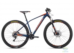 Велосипед Orbea ALMA 29 H50 L Blue - Orange 2019