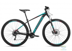 Велосипед Orbea MX 29 10 L Black - Turquoise - Red 2019