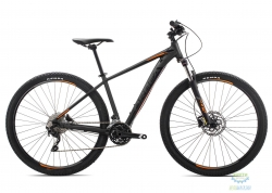 Велосипед Orbea MX 27 30 L Black - Orange 2019