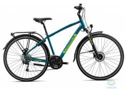 Велосипед Orbea COMFORT 10 PACK L Blue - Green 2019