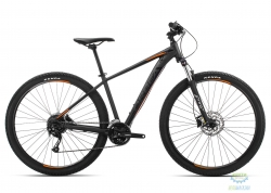 Велосипед Orbea MX 27 40 L Black - Orange 2019