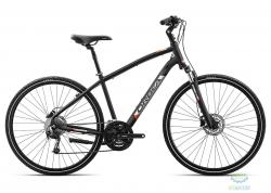 Велосипед Orbea COMFORT 10 L Anthracite - Orange 2019
