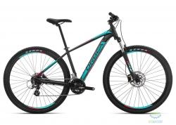 Велосипед Orbea MX 27 50 XS Black - Turquoise - Red 2019