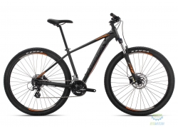 Велосипед Orbea MX 27 50 L Black - Orange 2019
