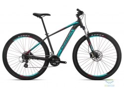 Велосипед Orbea MX 27 50 L Black - Turquoise - Red 2019