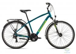 Велосипед Orbea COMFORT 30 PACK M Blue - Green 2019