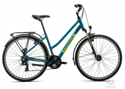 Велосипед Orbea COMFORT 32 PACK M Blue - Green 2019