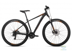 Велосипед Orbea MX 27 60 L Black - Orange 2019