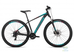 Велосипед Orbea MX 29 60 L Black - Turquoise - Red 2019
