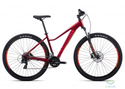 Велосипед Orbea MX 27 ENT 60 M Garnet - Orange 2019