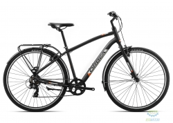 Велосипед Orbea COMFORT 40 PACK M Anthracite - Orange 2019