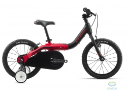 Велосипед 16 Orbea GROW 1 Black-Red 2019