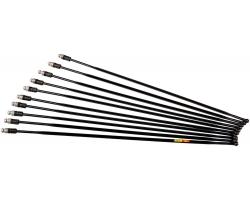 Спица 289 мм Mavic v3660501 - KSYRIUM DISC 18, задняя правая, сталь, черная