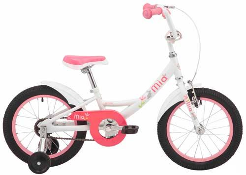 Велосипед 16 Pride MIA 16 белый 2019