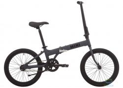 Велосипед 20 Pride MINI 1 темно-серый/черный 2020