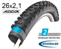 Покрышка 26x2.10 (54-559) Schwalbe NOBBY NIC Performance B/B-SK HS463 Addix, 67EPI