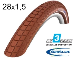 Покрышка 28x1.50 700x38C (40-622) Schwalbe LITTLE BIG BEN HS439 K-Guard BN/BN+RT SBC, 50EPI