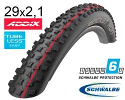 Покрышка 29x2.10 (54-622) Schwalbe ROCKET RON Evo SnakeSkin TLE B/B-SK HS438 Addix Speed, 67EPI