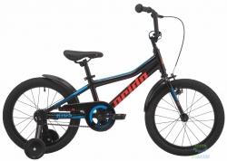 Велосипед 18 Pride RIDER 18 черный 2019