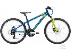 Велосипед 24 Apollo PANTHER  gloss Blue / gloss Lime / gloss Green