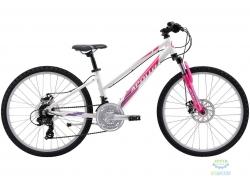 Велосипед 24 Apollo VERVE  gloss White / gloss Pink / gloss Lavender