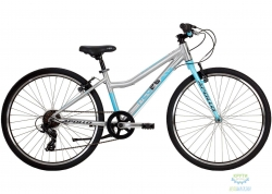 Велосипед 26 Apollo NEO 7s girls Brushed Alloy/Sky Blue/Charcoal