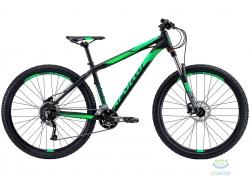 Велосипед 27,5 Apollo TRAIL 10 рама - L  matte Black/matte Fluoro Green
