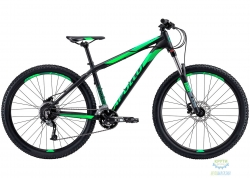 Велосипед 27,5 Apollo TRAIL 10 рама - M  matte Black/matte Fluoro Green