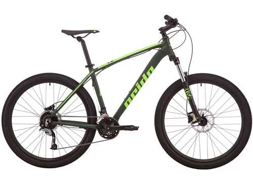 Велосипед 27,5 Pride Rebel 7.2 disc рама - L хаки 2019
