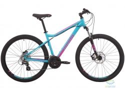 Велосипед 27,5 Pride Stella 7.2 disc рама - S бирюзовый 2019