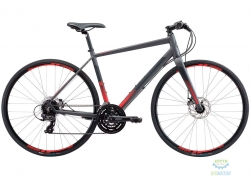 Велосипед 28 Apollo EXCEED 10 Disc рама - M matte Charcoal/ Black/ Red