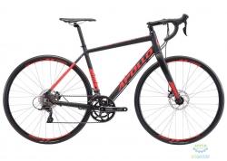 Велосипед 28 Apollo GIRO 20 рама - L  matte black/red
