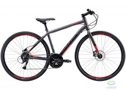 Велосипед 28 Apollo TRACE 30 рама - L matte Charcoal/matte Black/matte Red