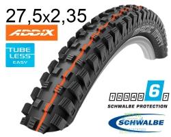 Покрышка 27.5x2.35 650B (60-584) Schwalbe MAGIC MARY SuperG TL-Easy Evolution Folding B/B-SK HS447 Addix U-Soft, 67EPI EK