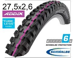 Покрышка 27.5x2.60-650B (65-584) Schwalbe MAGIC MARY Downhill B/B-SK HS447 Addix U-Soft