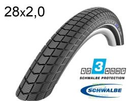 Покрышка 28x2.00 (50-622) Schwalbe BIG BEN K-Guard B/B+RT HS439 SBC, 50EPI