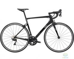 Велосипед 28 Cannondale SUPERSIX Carbon 105 рама - 56см 2021 BBQ, чёрный