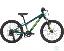 Велосипед 20 Cannondale TRAIL BOYS OS 2021 EMR, зелёный