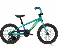 Велосипед 16 Cannondale Kids Trail SS TRQ 2020