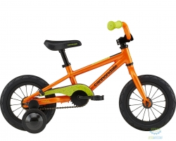 Велосипед 12 Cannondale TRAIL 1 OS 2022 CRU, оранжевый