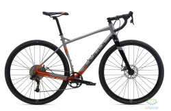 Велосипед 28 Marin GESTALT X10 рама - 52см 2020 Satin Silver/Gloss Orange to Black Fade