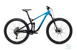 Велосипед 29 Marin Rift Zone 1 рама - M 2020 Gloss Black/Bright Blue/Cyan/Black