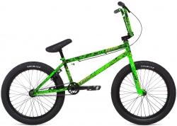 Велосипед 20 Stolen CREATURE 2020 TOXIC GREEN SPLATTE, зелёный