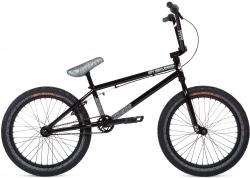 Велосипед 20 Stolen OVERLORD 2020 BLACK W/ REFLECTIVE GREY