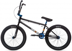 Велосипед 20 Stolen SINNER FC XLT LHD 2020 BLACK W/ BLUE, чёрный